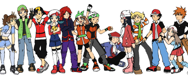 Pokemon_Trainers_by_Akari_K