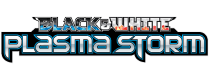 Black and White Plasma Storm