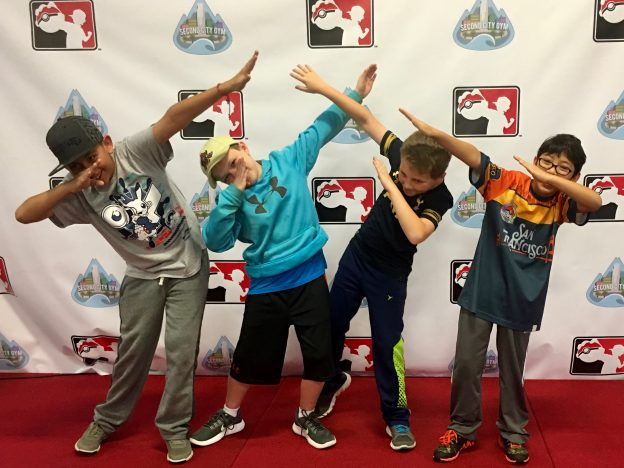 Pokemon Kids Dabbing